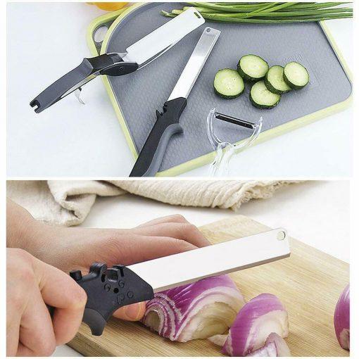 couteau de cuisine double fonction pratique