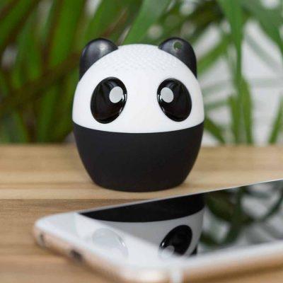 enceinte panda prendre photo