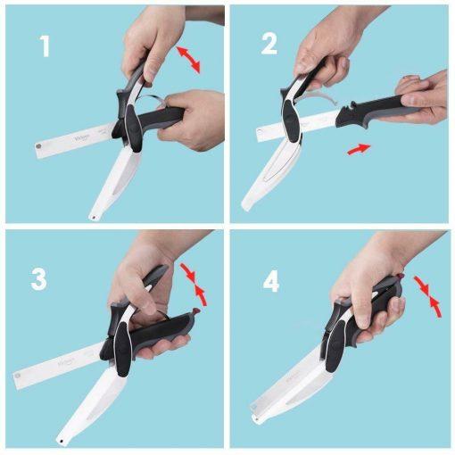 schema couteau double fonction