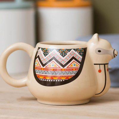 tasse cool en forme de lama