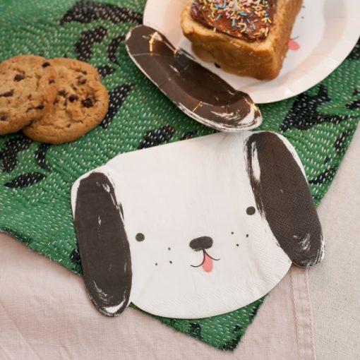 assiette cartont ete de chien