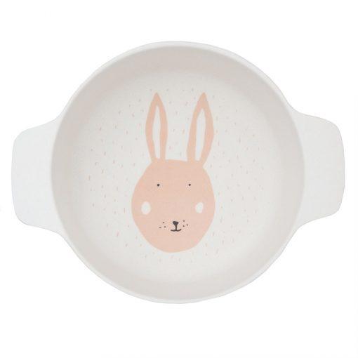 assiette tete de lapin enfant