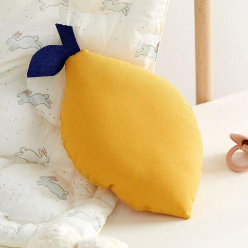 coussin forme de citron