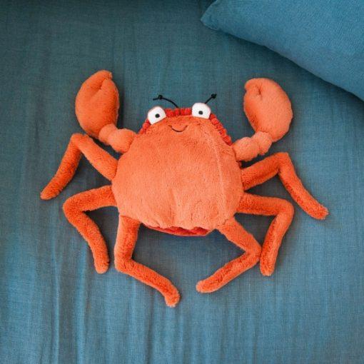 doudou en forme de crabe