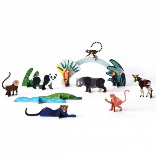 figurines animaux en carton faire sois meme