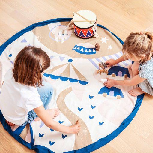 tapis ludique motifs bateaux