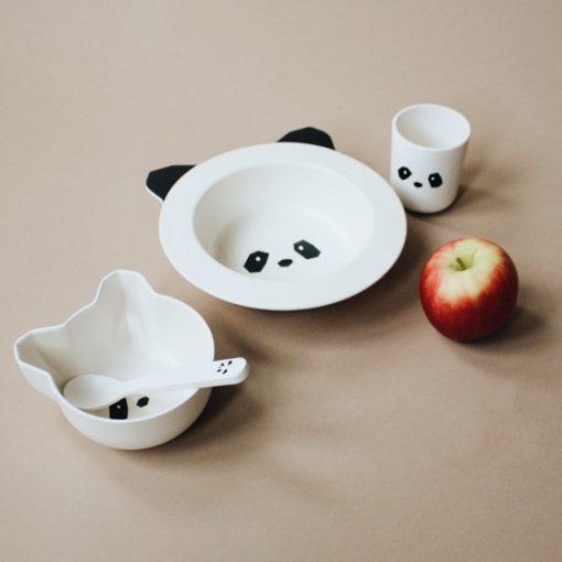 vaisselle bebe panda